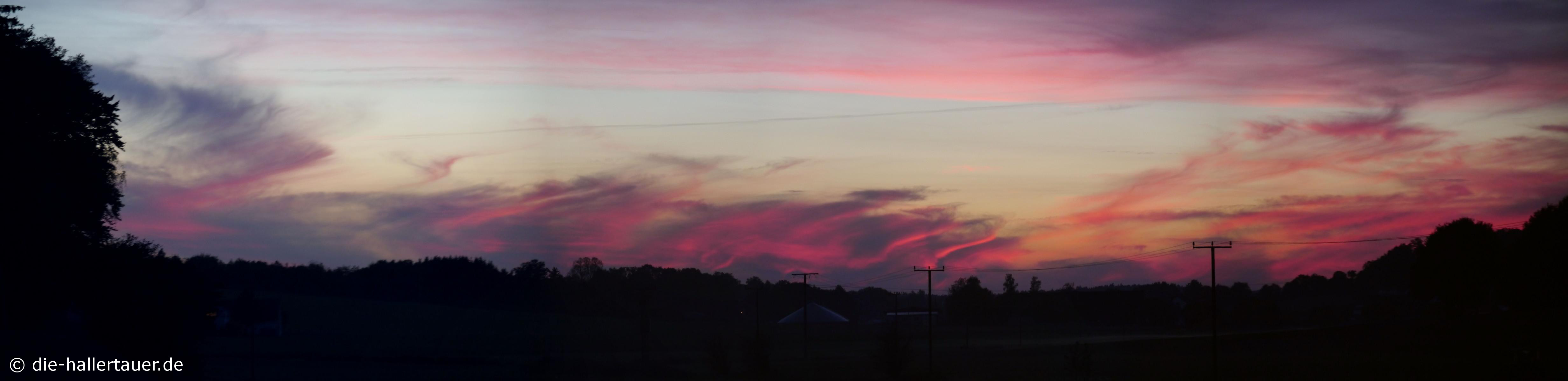 Hallertauer Sonnenuntergang