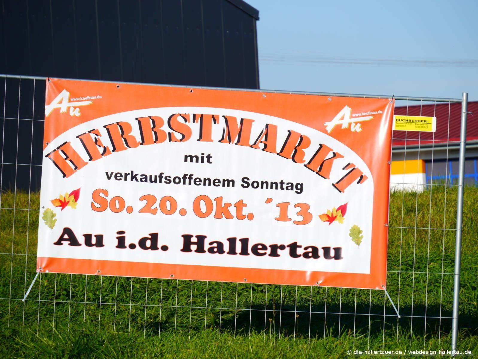 Marktsonntag in Au in der Hallertau