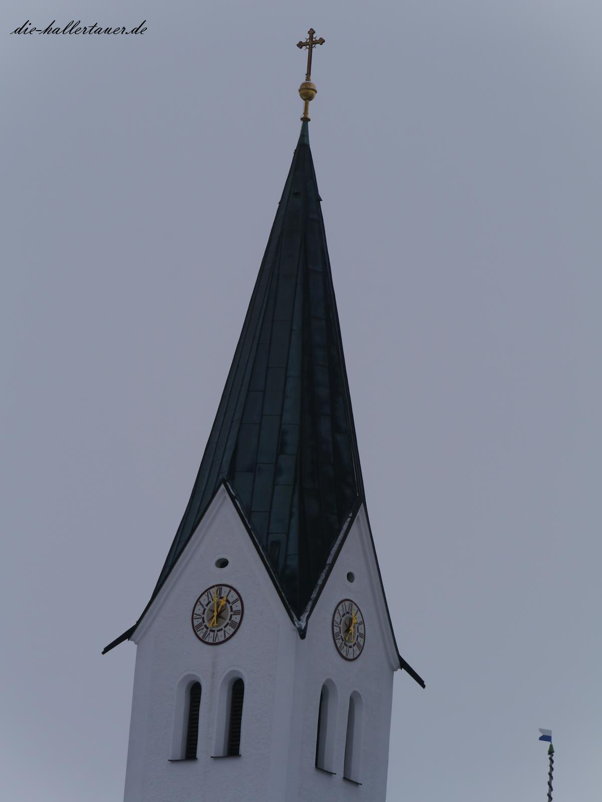 Kirchturm der Hallertau