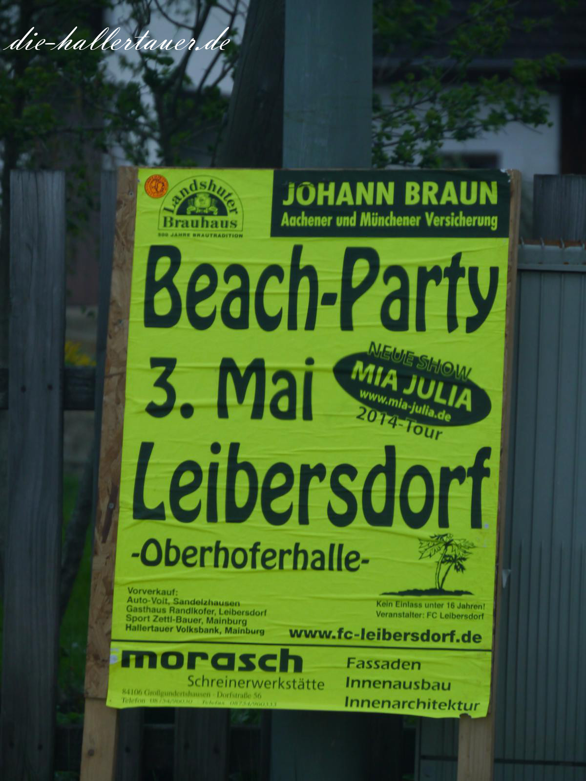 Beach Party Leibersdorf